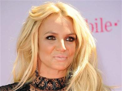 Britney Spears Straddles Treadmill In Skimpy Easter Surprise