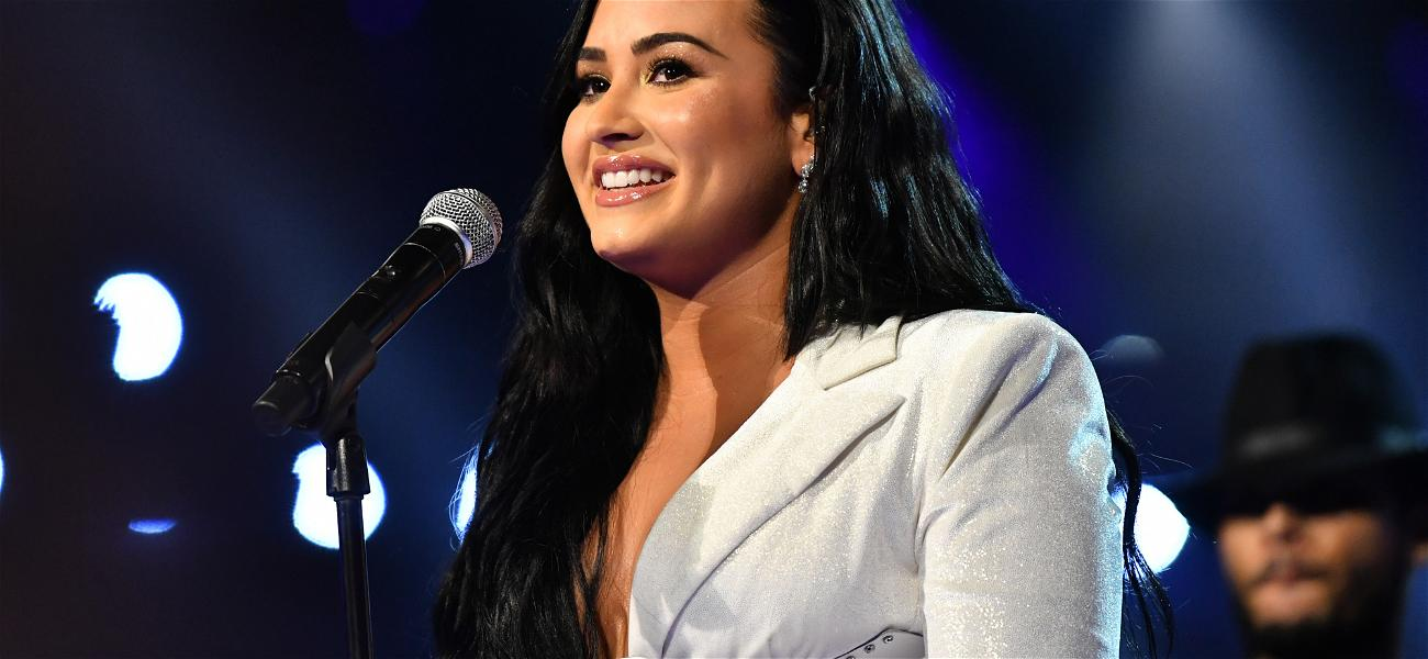 Demi Lovato Discusses How An Alien Encounter Could Lead To A Shift In Humanity