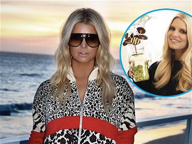 Jessica Simpson Flaunts 100-Pound Weight Loss While Dripping In Cookies