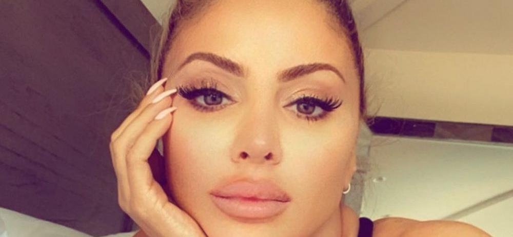 Larsa Pippen Hangs In See-Through Top Because It's Sunday