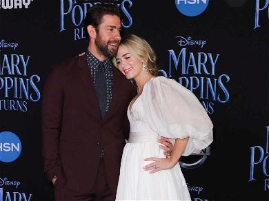 Emily Blunt Looked Like a Disney Princess At 'Mary Poppins Returns' Premiere