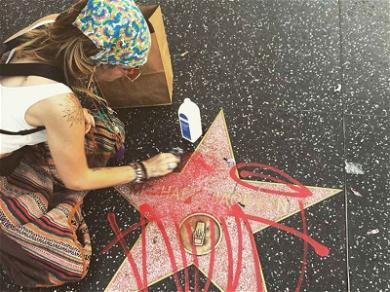 Paris Jackson Scrubs Michael Jackson's Walk of Fame Star After It Was Vandalized