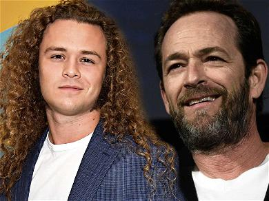 Luke Perry's Son Shares Never-Before-Seen Footage From Night Before Dad's Stroke