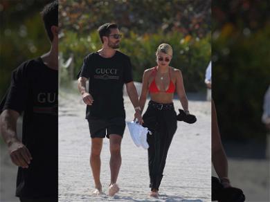 Scott Disick and Sofia Richie Take Miami Romance Beachside
