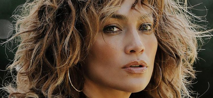 Jennifer Lopez Does Leather & Red Lips On Instagram For 'Pure Fire'