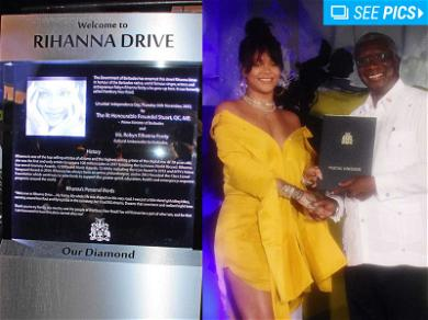 Welcome to Rihanna Drive, Officially Named Cultural Ambassador for Barbados