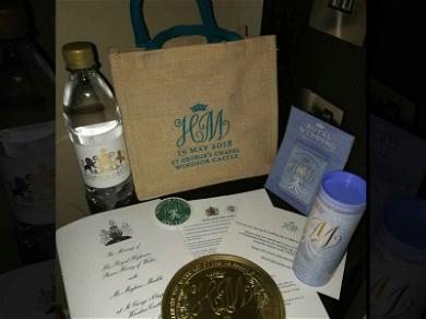 Harry and Meghan's Royal Wedding Swag Bag Hits the Auction Block