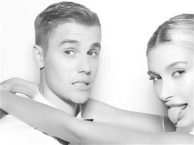 Justin Bieber Rips Off Hailey's Garter With Teeth in New Steamy Wedding Pics!