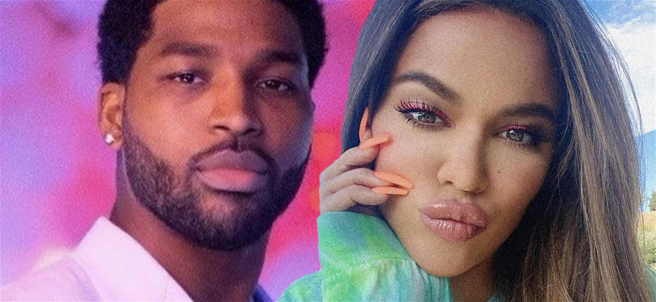 Tristan Thompson Slides Into Khloé Kardashian's Comments On Pic With True After Rekindling Romance