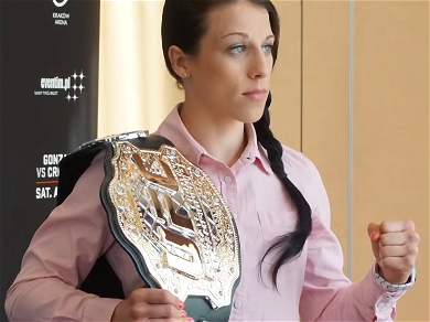 UFC Star Joanna Jedrzejczyk May Have Been Distracted By Fight With Teammate Colby Covington