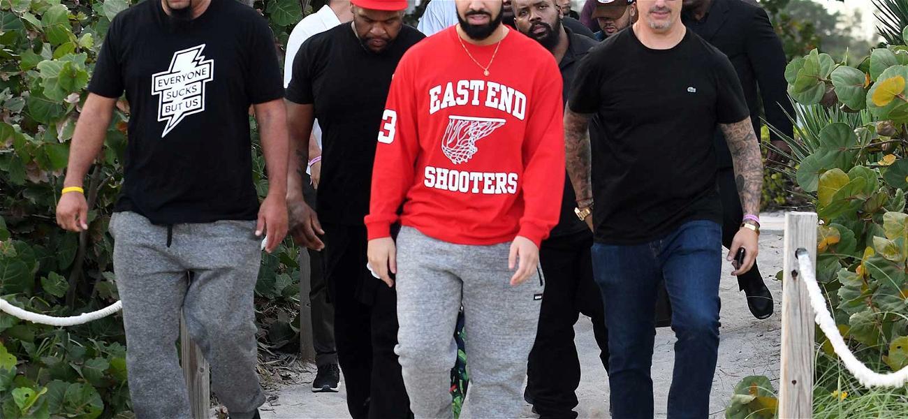 Drake Rolls Deep Before Performing Secret Show at Art Basel