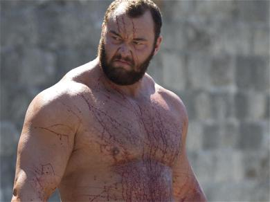 The Mountain From 'Game Of Thrones' Lifted Ed Sheeran Over His Head Like He Was Nothing