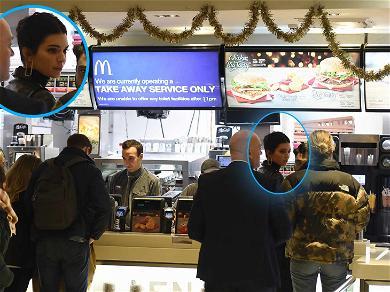 Kendall Jenner Makes McDonald's Run After British Fashion Awards