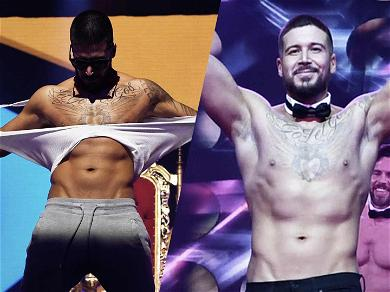 'Jersey Shore' Star Vinny Guadagnino Hits the Chippendales Stage & Rips His Clothes Off
