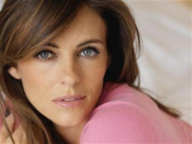 Elizabeth Hurley All Thigh Gap In Hot Swimsuit Spill