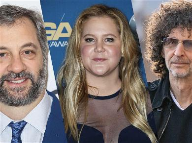 Amy Schumer Gives Special Shout Out To Howard Stern & Judd Apatow: 'I Love You'