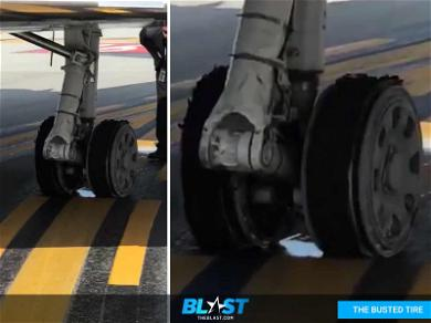 Post Malone's Plane Lands Safely: See the Damaged Wheel