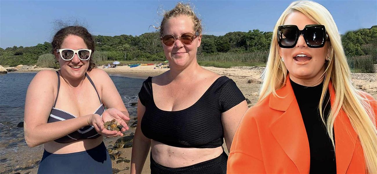 Jessica Simpson Makes Hilarious 'Size Matters' Joke On Amy Schumer's Weight Loss Pic