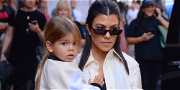 Kourtney Kardashian's Youngest Son Goes Viral After Flipping Off Photographers