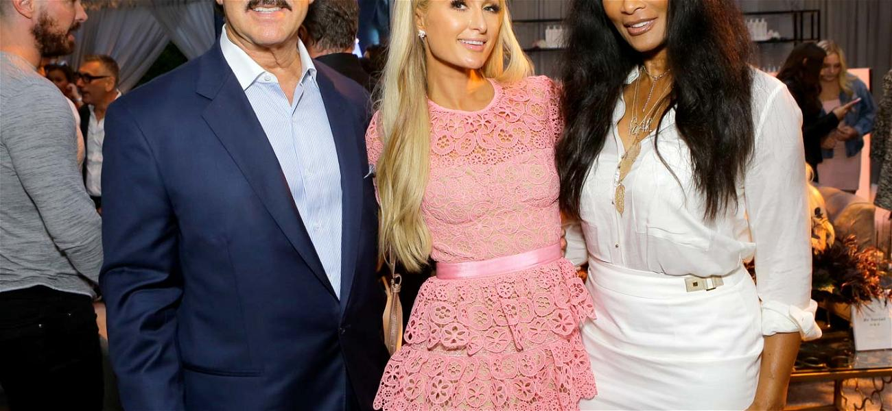 Paris Hilton Attends The Launch Of Totalee in Beverly Hills