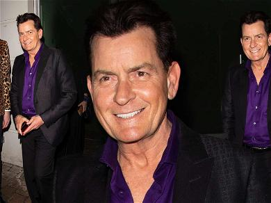 Charlie Sheen Looking Good and Feeling Good Out in London