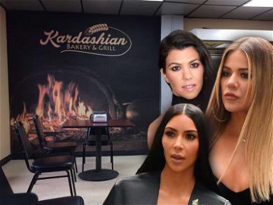 Kim, Khloé, Kourtney Trying to Take Down 'Kardashian Bakery & Grill'