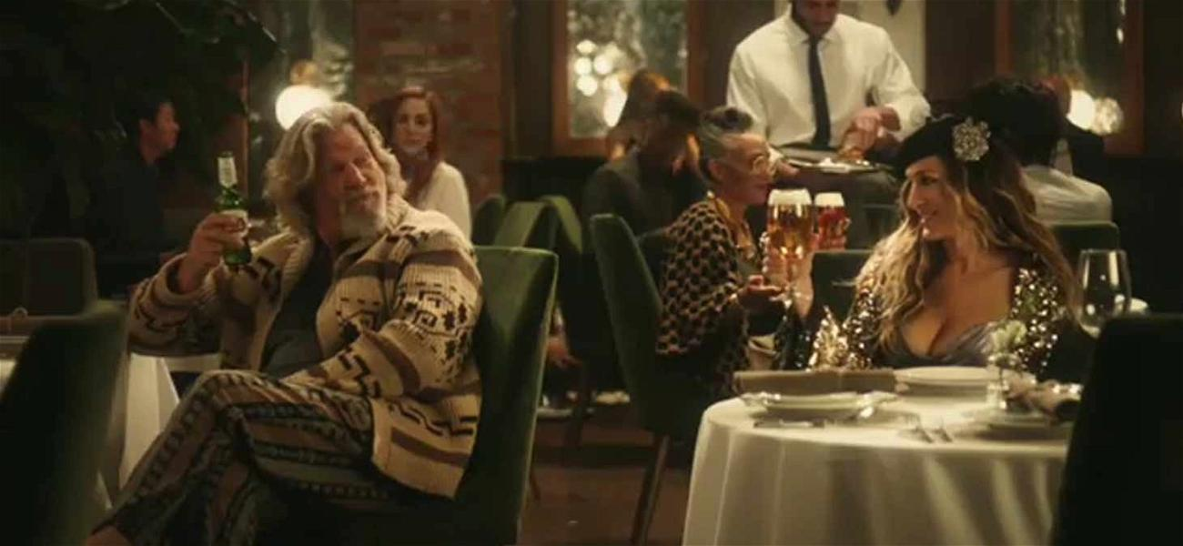 When The Dude Met Carrie Bradshaw: See the Epic Super Bowl Spot