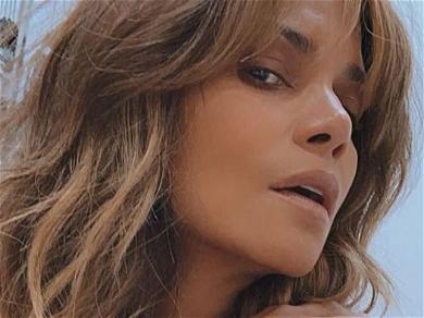 Halle Berry Claps Back At Instagram Trolls With Intimate PDA