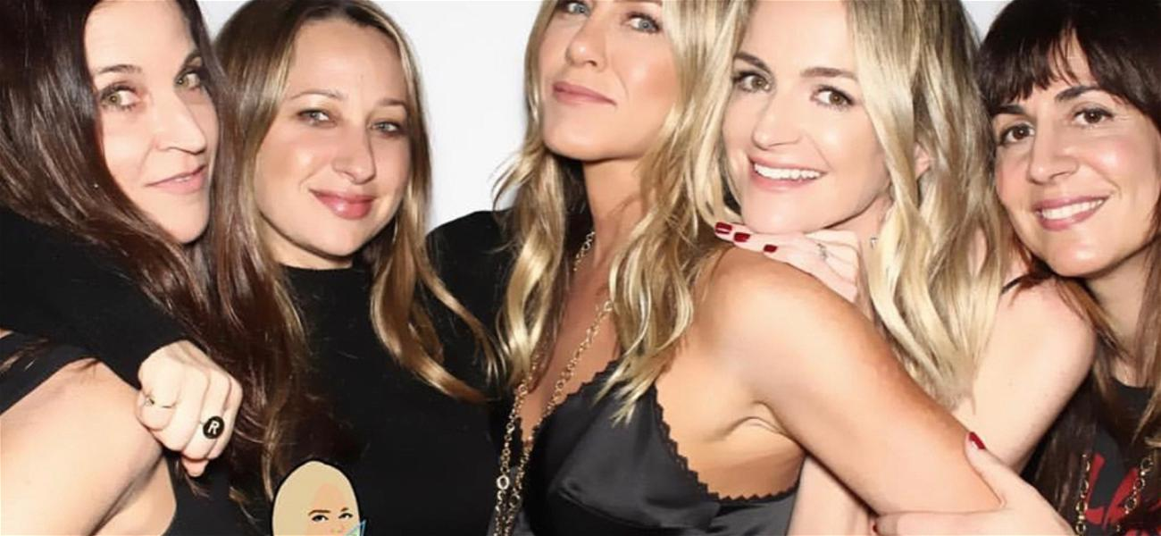 Jennifer Aniston Goes Out for Jimmy Kimmel's Wife's Birthday Bash