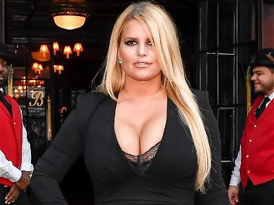 Jessica Simpson Shows Insane 100-Pound Weight Loss In Sexy Mesh Look By A Rainbow
