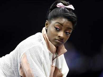 Simone Biles Puts All The Guys To Shame With Her Version Of The 'Impossible Challenge'