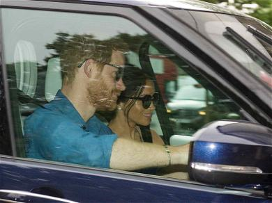 Harry and Meghan Out for the First Time Since the Wedding!