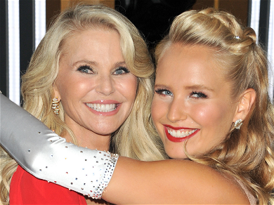 Christie Brinkley Pens Sweet Tribute To Daughter Sailor After Revealing 'DWTS' Broken Arm Injury