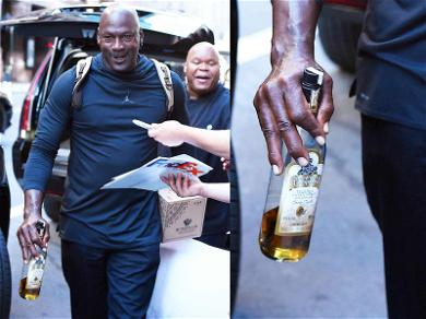 Michael Jordan Celebrates 20th Anniversary of Final Shot with … More Shots!
