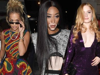 Rita Ora and Winnie Harlow Rock Bold Silhouettes at BAFTA Afterparty