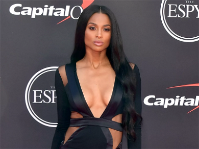 Ciara Wows In Red Bikini For Baby Bump Debut – Pregnant With Number 3