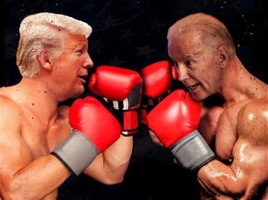 Donald Trump Says Joe Biden Would 'Go Down Fast and Hard' in a Fight With POTUS