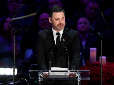 Jimmy Kimmel Breaks Down While Speaking At Kobe Bryant's Celebration Of Life