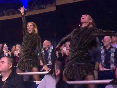 Céline Dion Loses Her Mind at Lady Gaga's Las Vegas Show