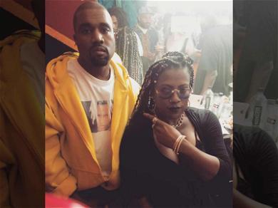 Kanye West Sports XXXTentacion Shirt in Photo with Gangsta Boo