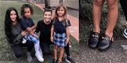 Kourtney Kardashian's Daughter Wore $400 Gucci Loafers to School & Fans Are Shook