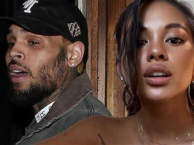 Chris Brown Reappears On Baby Mama Ammika Harris' Social Media