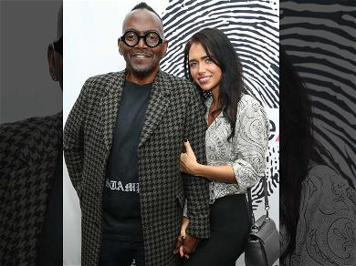Randy Jackson Walks the Red Carpet With Apparent New Girlfriend