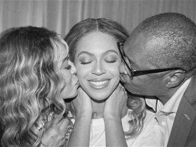 Beyoncé Poses for Rare Photo with Both of Her Parents