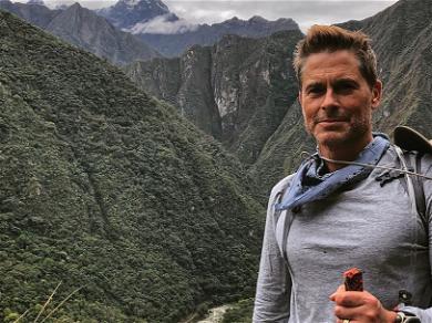 Rob Lowe Is Literally Hiking to Machu Picchu
