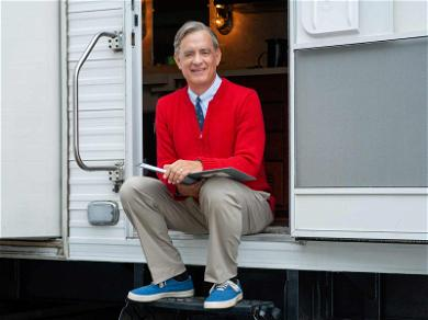 It's a Beautiful Day in Tom Hanks' Neighborhood: First Look As Mister Rogers