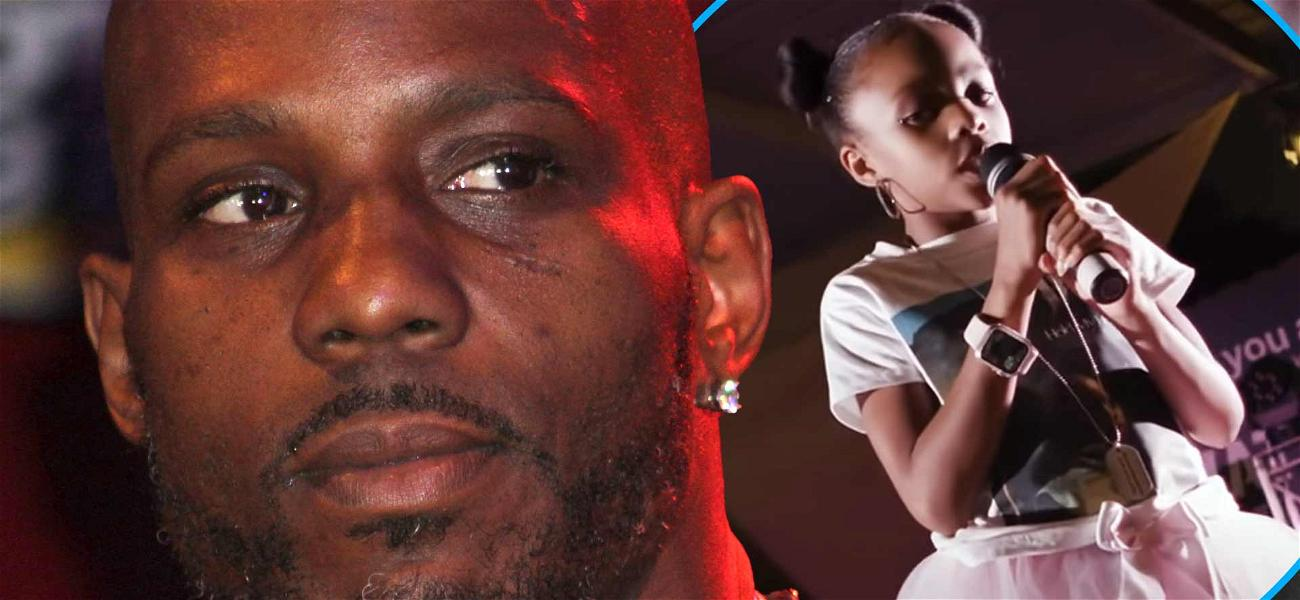DMX's 8-Year-Old Daughter Raps 'Slippin' At Texas Show To Honor Late Rapper