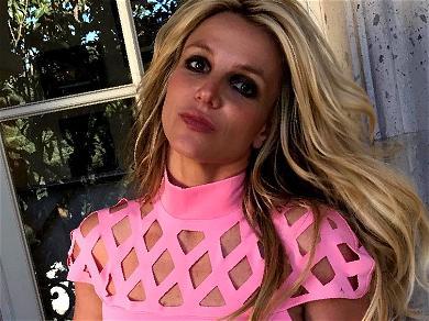 Britney Spears Walks On Her Hands In Zero-Gravity Shorts
