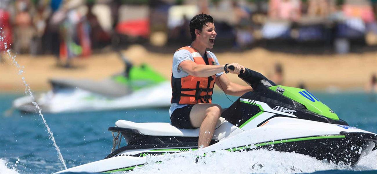 Shawn Mendes Having Fun in the Sun is a 'No Brainer,' Despite Justin Bieber Shade