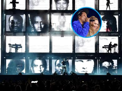 Beyoncé and Jay-Z Use Iconic Mugshots During OTR II Tour